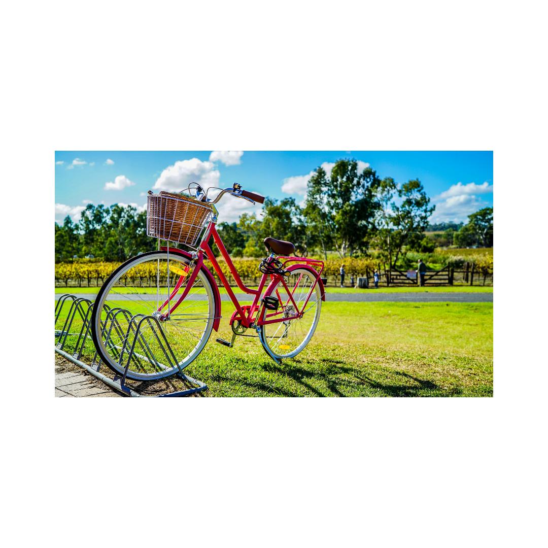 停車中の自転車
